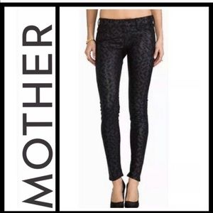 Mother The Looker faux leather Pants